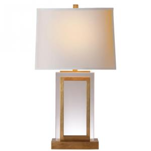 Crystal Panel - 1 Light Table Lamp