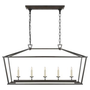 Darlana - 5 Light Medium Linear Hanging Lantern