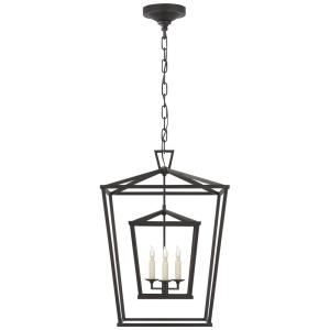 Darlana - 3 Light Medium Double Cage Hanging Lantern