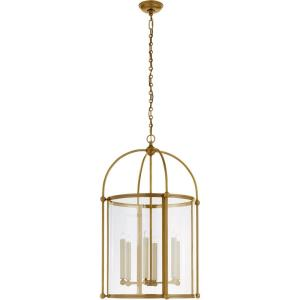 Plantation - 6 Light Outdoor Large Round Hanging Lantern