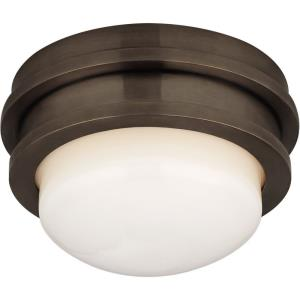 Launceton - 5 Inch 9W 1 LED Solitaire Flush Mount