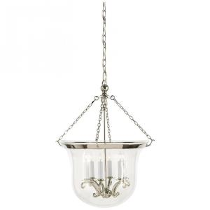 Country - 6 Light Large Bell Jar Pendant