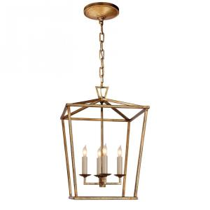 Darlana - Four Light Small Foyer Lantern