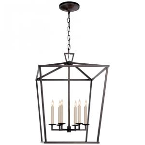 Darlana - Six Light Large Foyer Lantern