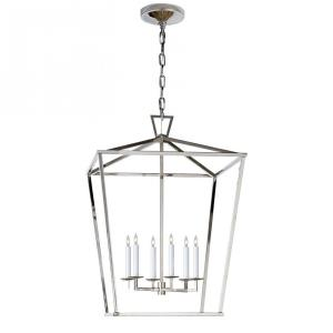 Darlana - 6 Light Large Foyer Lantern