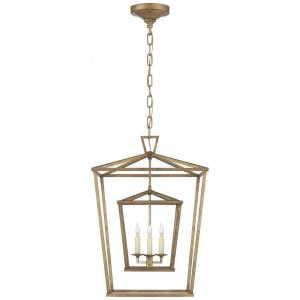Darlana - 3 Light Medium Double Cage Lantern