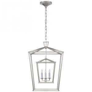 Darlana - Three Light Medium Double Cage Lantern