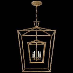 Darlana - 4 Light Large Double Cage Lantern