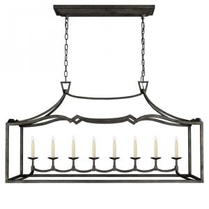 Fancy Darlana - 8 Light Large Linear Pendant