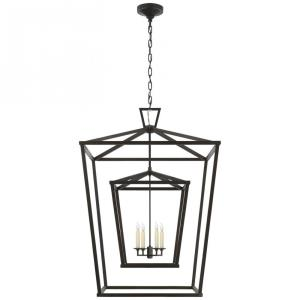 Darlana - 4 Light Extra Large Double Cage Lantern