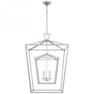 Darlana - 4 Light Extra Large Double Cage Lantern