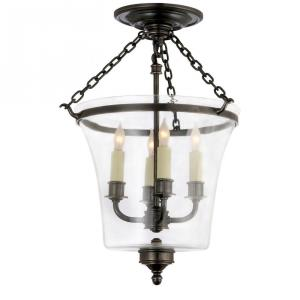 Sussex - 4 Light Bell Jar Convertible Semi-Flush Mount