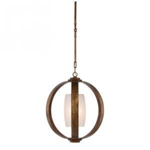 Metal Banded - 1 Light Pendant