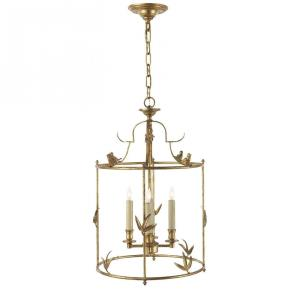 Diego - 4 Light Grande Classical Perching Bird Lantern