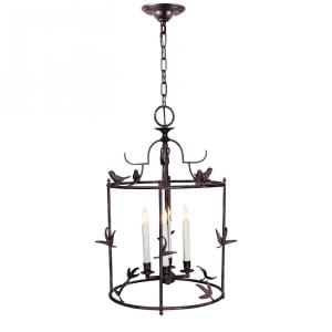 Diego - 4 Light Grande Classical Perching Bird Lantern