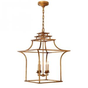 Brighton - 4 Light Pagoda Lantern