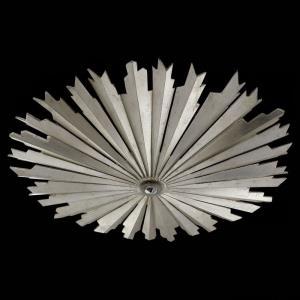 Claymore - 27.5 inch 1 LED Medium Flush Mount