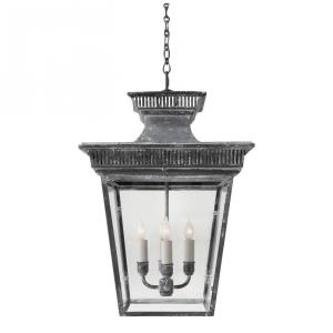 Elsinore - 4 Light Outdoor Medium Hanging Hanging Lantern