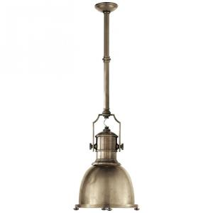 Country Industrial - 1 Light Small Pendant