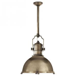 Country Industrial - 1 Light Large Pendant