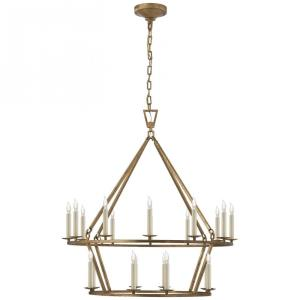 Darlana - 20 Light Medium 2-Tier Chandelier