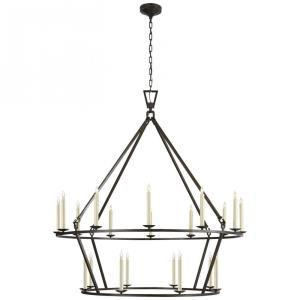 Darlana - Twenty Light Extra Large 2-Tier Chandelier