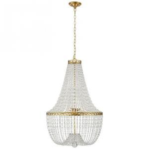 Linfort - 8 Light Basket Form Chandelier