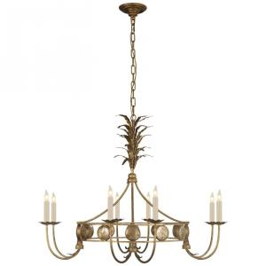 Gramercy - Eight Light Medium Ring Chandelier