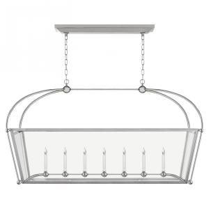Plantation - 7 Light Large Linear Pendant