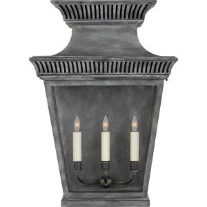 Elsinore - 3 Light Outdoor Large Wall Lantern