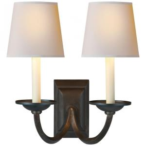 Flemish - Two Light Wall Sconce