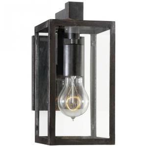 Fresno - 1 Light Outdoor Framed Short Wall Sconce