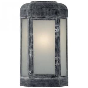 Dublin - 1 Light Outdoor Small Faceted Wall Sconce