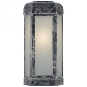 Dublin - 1 Light Outdoor Large Faceted Wall Sconce