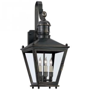 Sussex3 - Three Light Small Wall Bracket Lantern