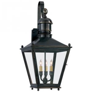Sussex3 - Three Light Medium Wall Bracket Lantern