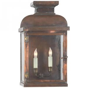 Suffork - 2 Light Wide Short Wall Lantern