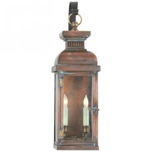 Suffork - 2 Light Medium Scroll Arm Wall Lantern