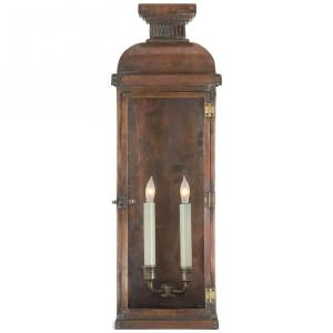 Suffork - 2 Light Tall Wall Lantern