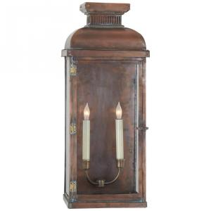Suffork - 2 Light Wide Tall Scroll Wall Lantern