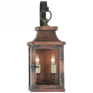 Bedford - 2 Light Small Scroll Arm Wall Lantern