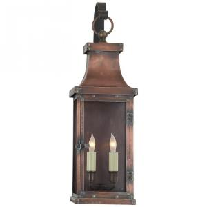 Bedford - 2 Light Medium Scroll Arm Wall Lantern