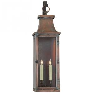 Bedford - 2 Light Large Scroll Arm Wall Lantern
