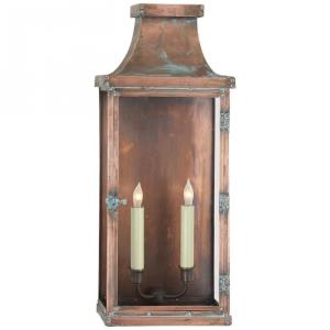 Bedford - 2 Light Wide Tall Wall Lantern