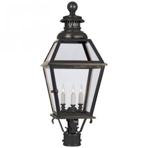 Chelsea - 3 Light Large Outdoor Post Lantern
