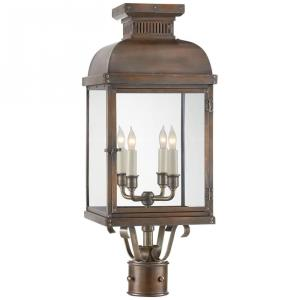 Suffork - 4 Light Outdoor Post Lantern