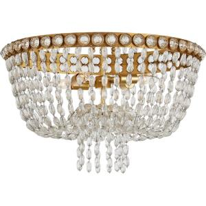 Navona - 4 Light Large Basket Flush Mount
