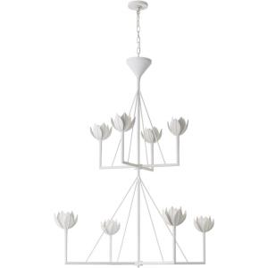 Alberto - 8 Light Large 2-Tier Chandelier