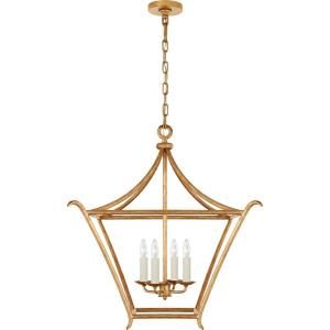 Aria - 4 Light Outdoor Medium Square Hanging Lantern
