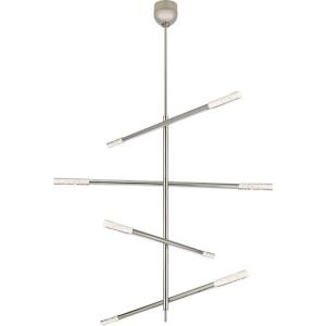 Rousseau - 48 Inch 35W 1 LED Large Articulating Chandelier